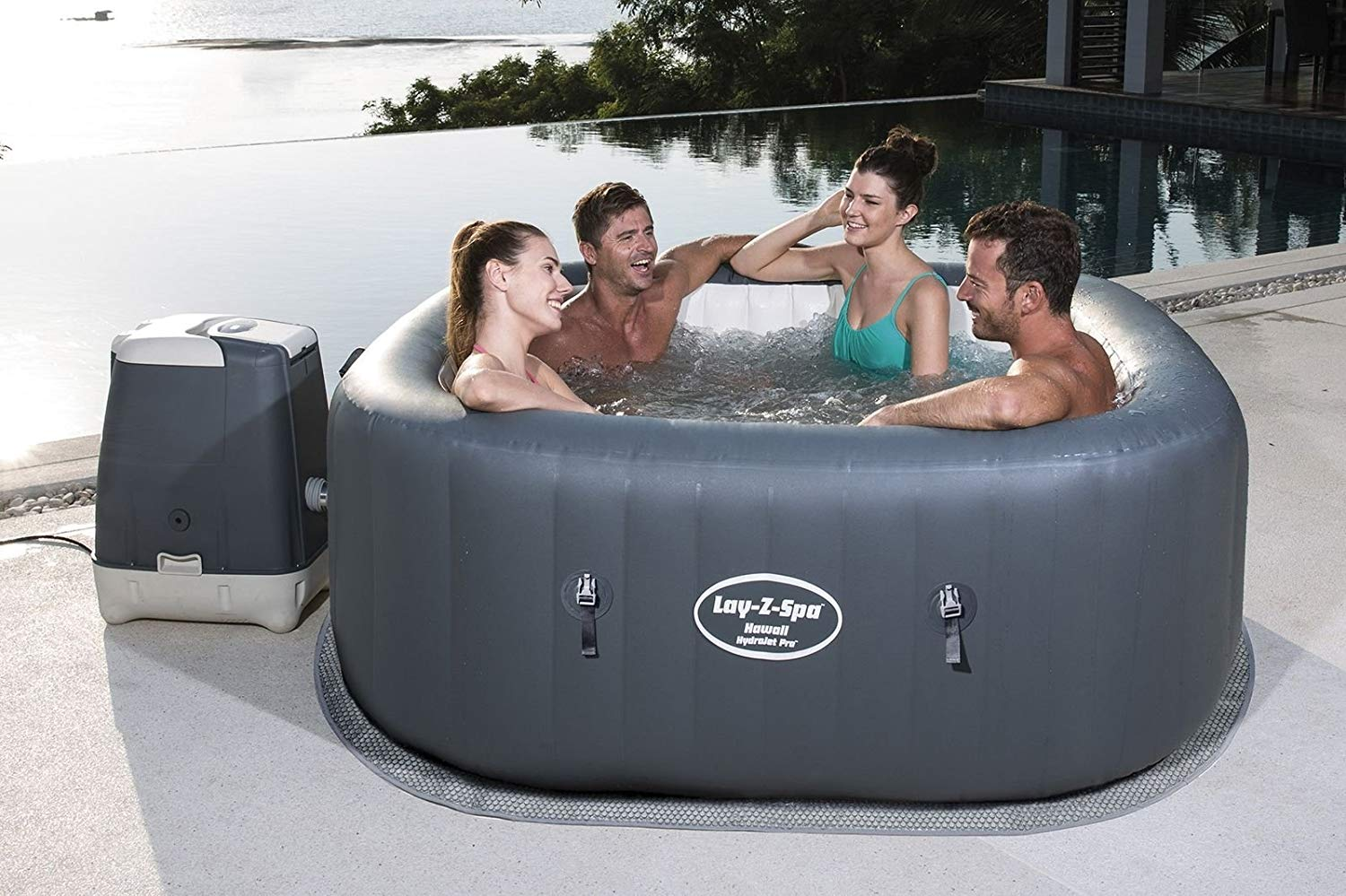 Jacuzzi Bestway Lay-Z-Spa Hawaii HydroJet Pro