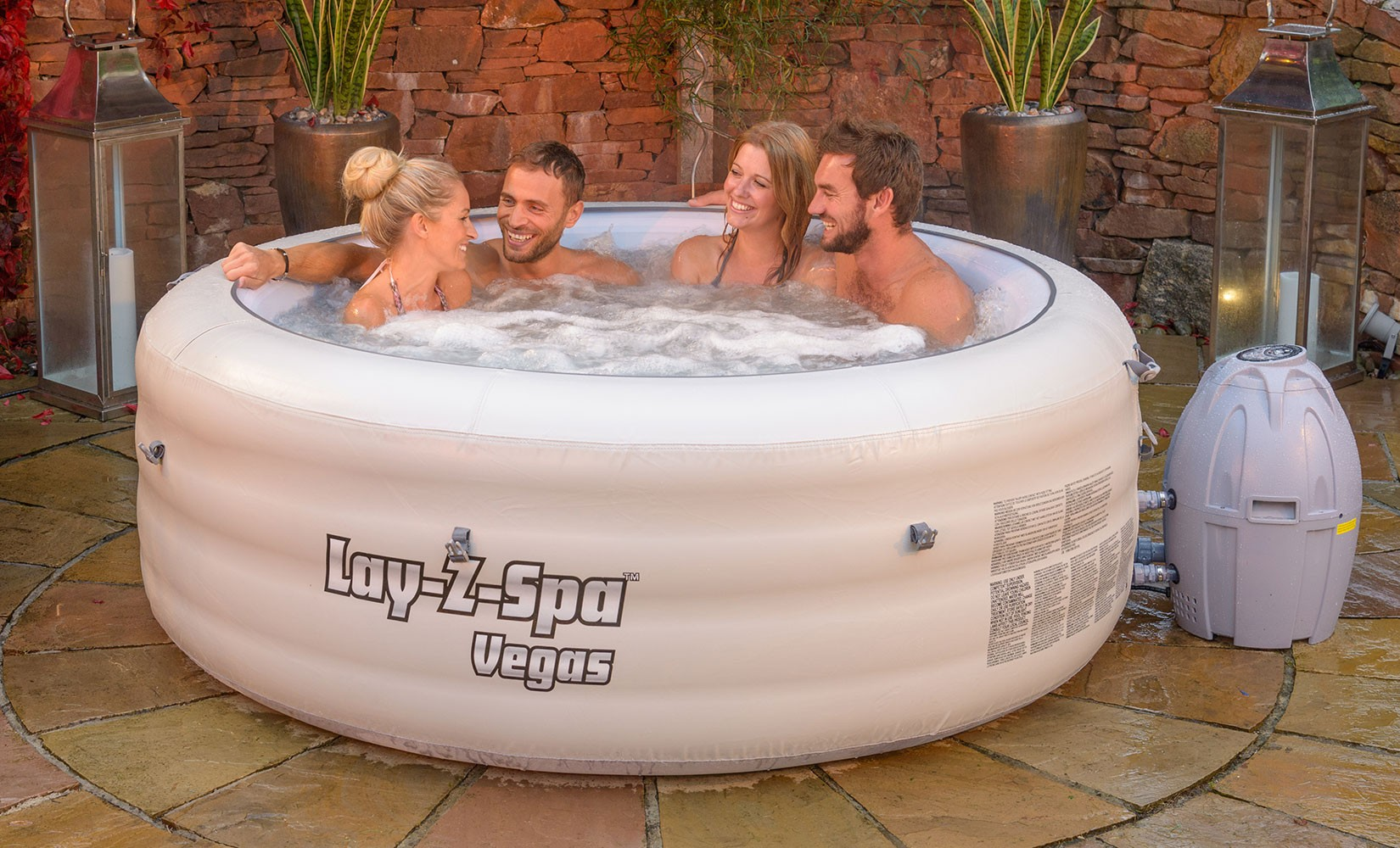 Jacuzzi gonflable Bestway Lay-Z-Spa Vegas
