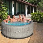 jacuzzi gonflable test